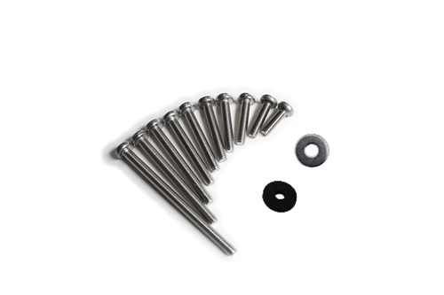Fin screw M6 with washers