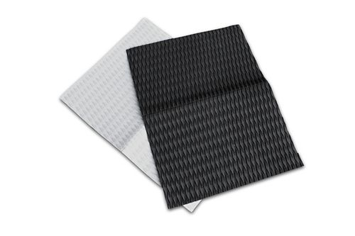 Footpad Sheet 80 x 60 cm Diamond Groove Black