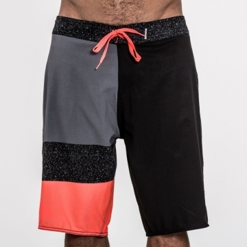Mystic Electric Boardshort, Dark Grey 33 (2016)