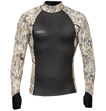 WETSOX SUIT SKINS SHIRT (REED CAMO)